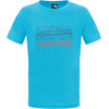 The North Face Boys Reaxion S/S Tee Meridian Blue